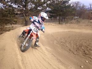 Initiation motocross